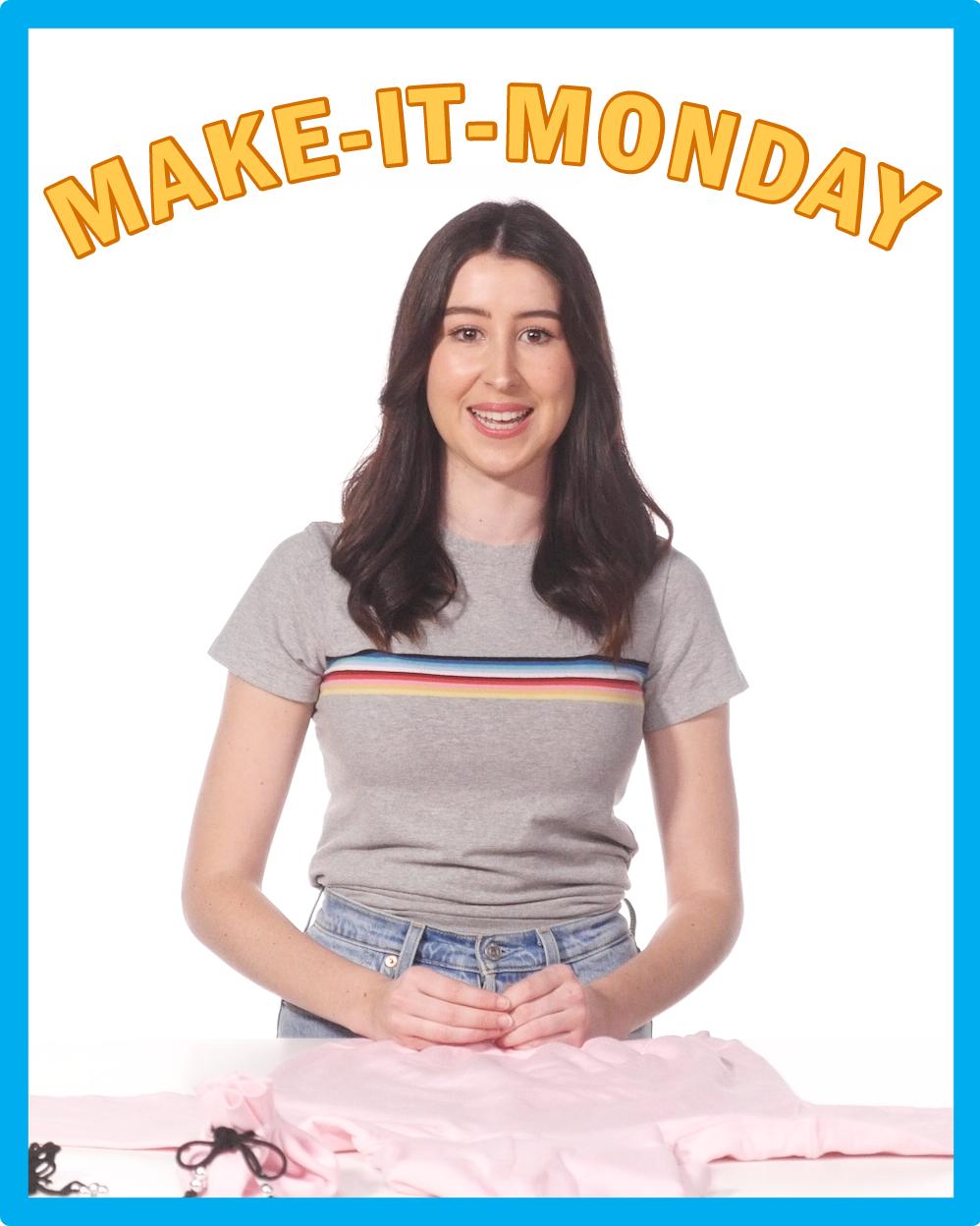 Make-It-Monday: No-Sew Drawstring Bag