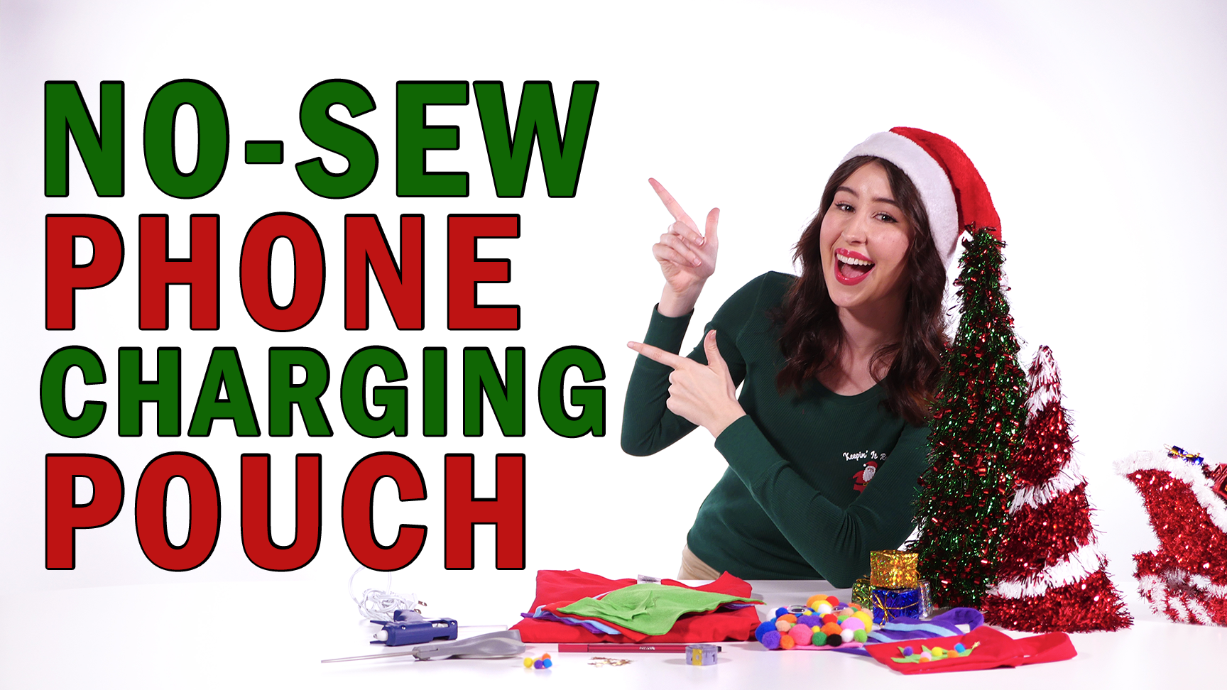 Make-It-Monday: No Sew Phone Charging Pouch