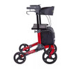 """Comodita Punto Compact Rollator with Double Fold Action and Extra Large 10"""" Front Wheels"""
