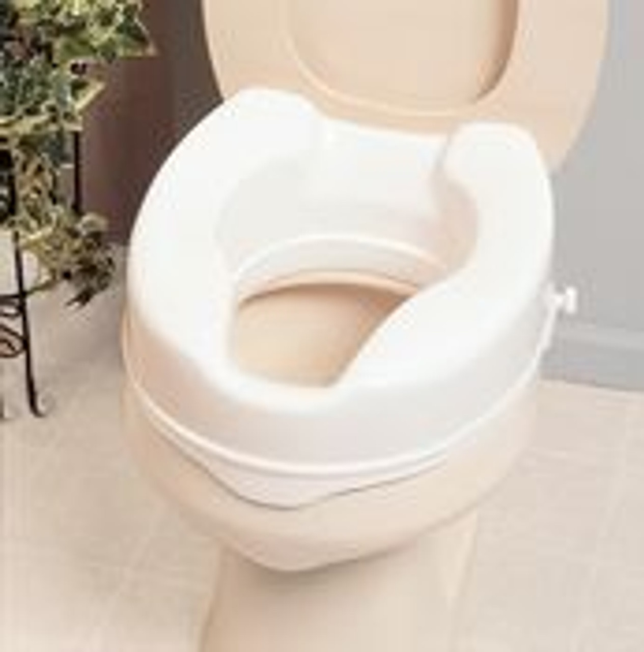 Patterson Medical Aa2112 Savanah Raised Toilet Seat Homecraft Savanah Raised Toilet Seat 2 High At Front