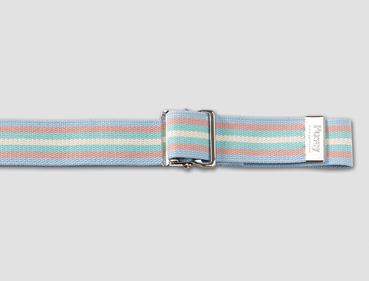 71 Posey 6525L Coral Reef Gait Belt with Nickel Buckle
