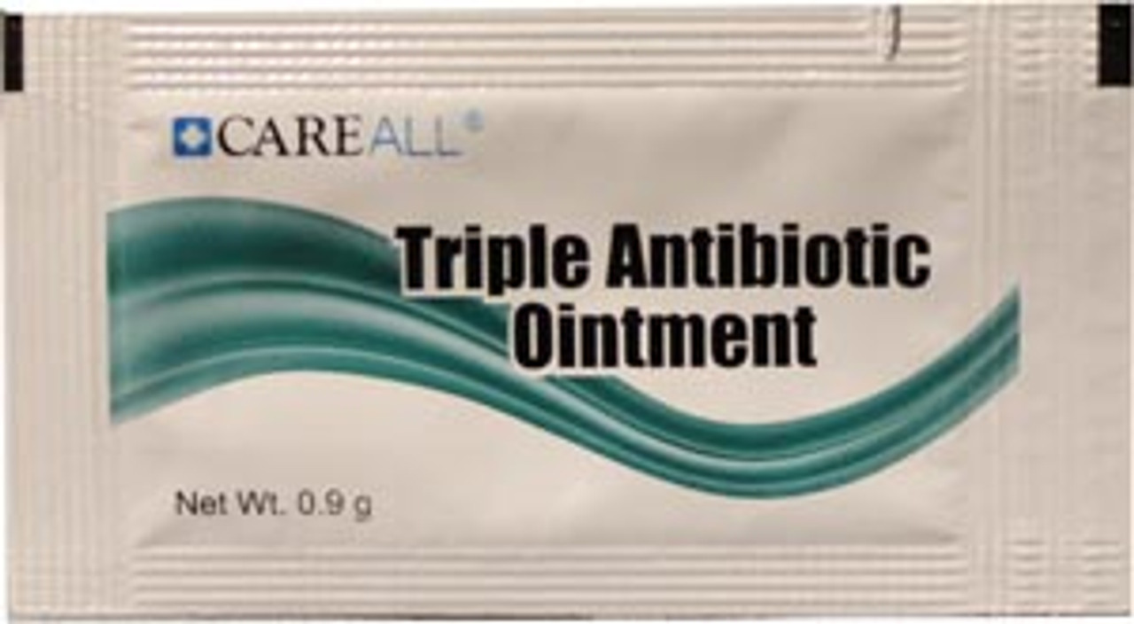 TAOP9 New World Imports Triple Antibiotic Ointment, 0 9g, Compared to the  Active Ingredients in Neosporin, 144/bx, 12 bx/cs (Not Available for sale