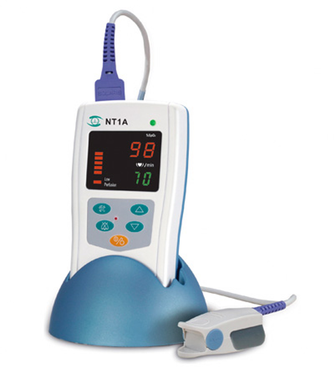 Solaris Medical Technology NT1A Handheld Pulse Oximeter with Alarm
