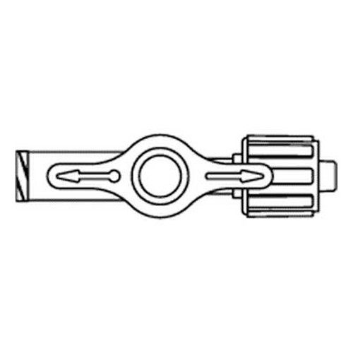 MX5061L Smiths Medical One Way Stopcock W/Swivel Male Luer Lock     50/Ca