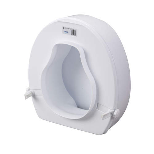 Astounding 12067 Drive Medical Raised Toilet Seat With Lock And Lid 6 Pdpeps Interior Chair Design Pdpepsorg