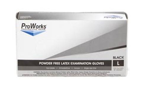 Hospeco GL-N113FX Exam Glove, Nitrile, 12 in  , X-Large, Dark Blue