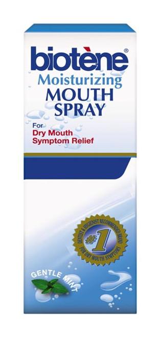 60000000042386 GlaxoSmithKline Consumer Healthcare Biotne Moisturizing  Mouth Spray, Gentle Mint flavor, 1 5 oz  bottle, 6/pack (Available for sale  in