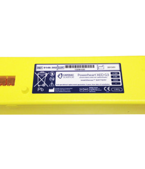 9147-201-TSO Cardiac Science Powerheart G3 AED Intellisense® Lithium Battery (6 Cell)