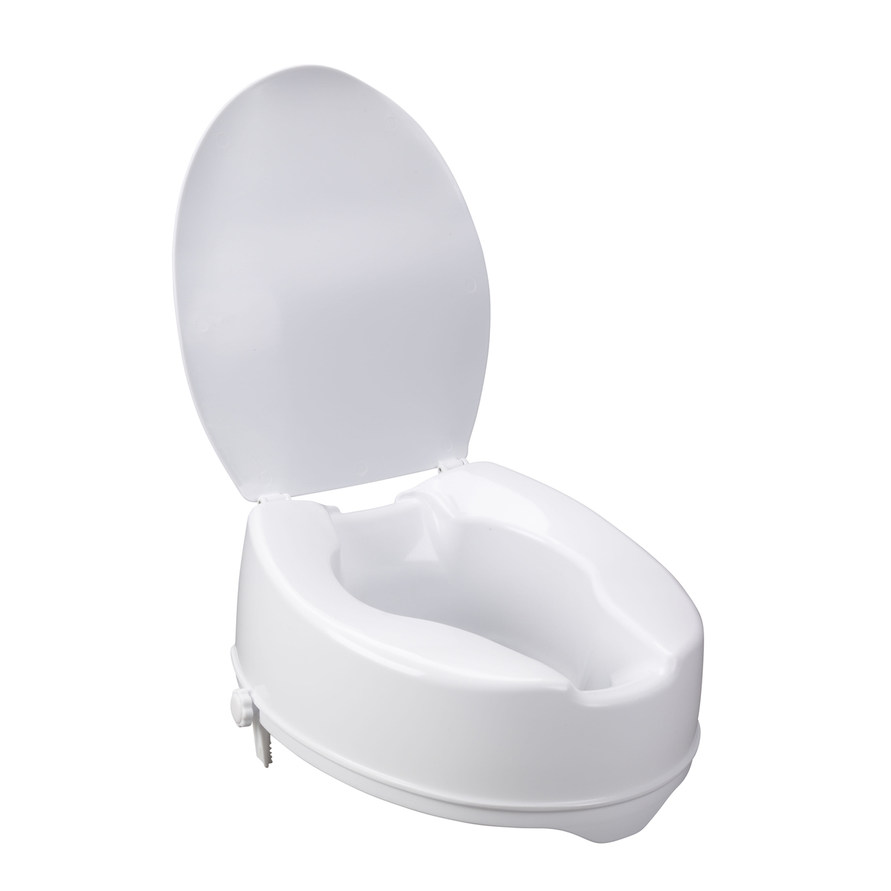 Surprising 12067 Drive Medical Raised Toilet Seat With Lock And Lid 6 Pdpeps Interior Chair Design Pdpepsorg