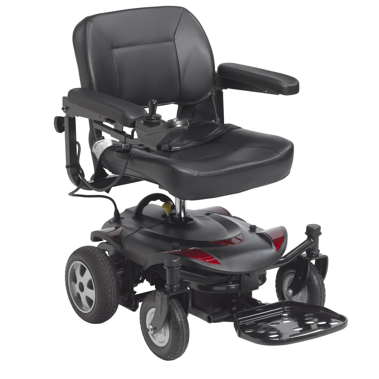 Drive Medical titanlte-18fs Titan LTE Power Wheelchair, 18&#34 ...