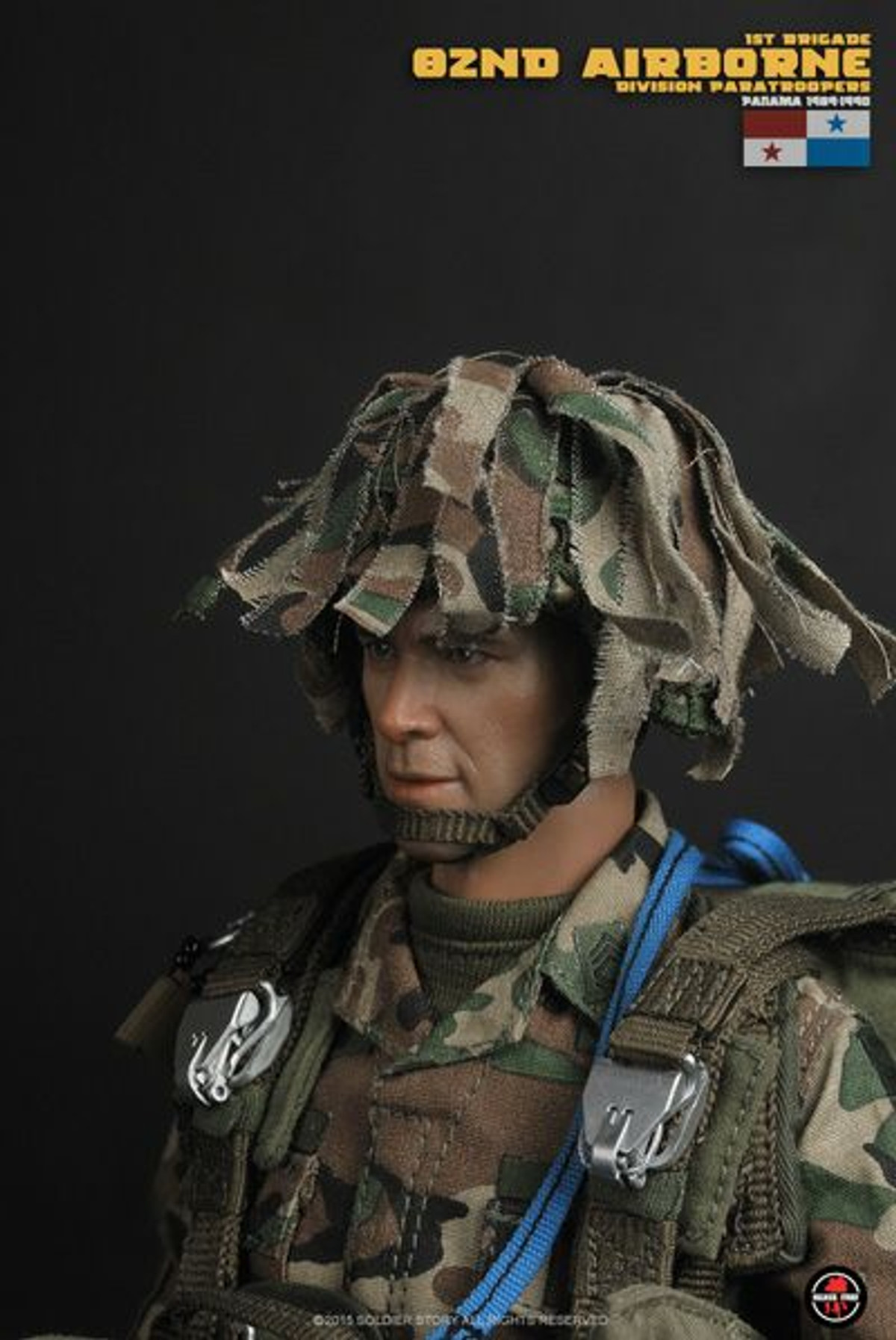 GI JOE Action Figures 1//6 Scale Helmet w// Camo Cover 82nd Airborne Female