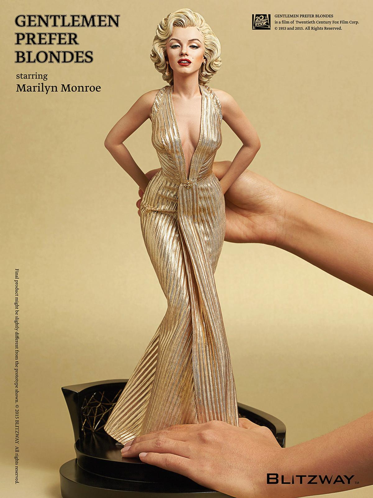 1//6 MARILYN MONROE GENTLEMEN PREFER BLONDES Head Sculpt Robe Chaussures Set U.S.A.