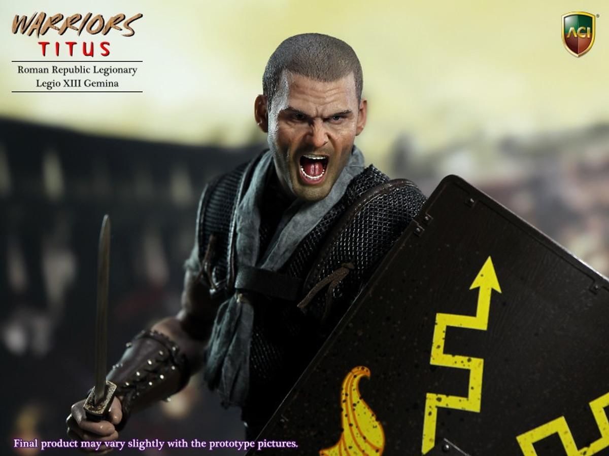 Product Announcement ACI Toys 1/6 Roman Republic Legionary