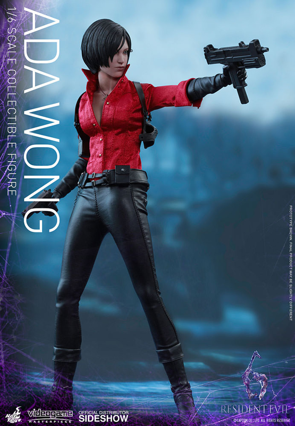 Hot Toys Resident Evil 6 Ada Wong Sniper Rifle loose 1//6th scale