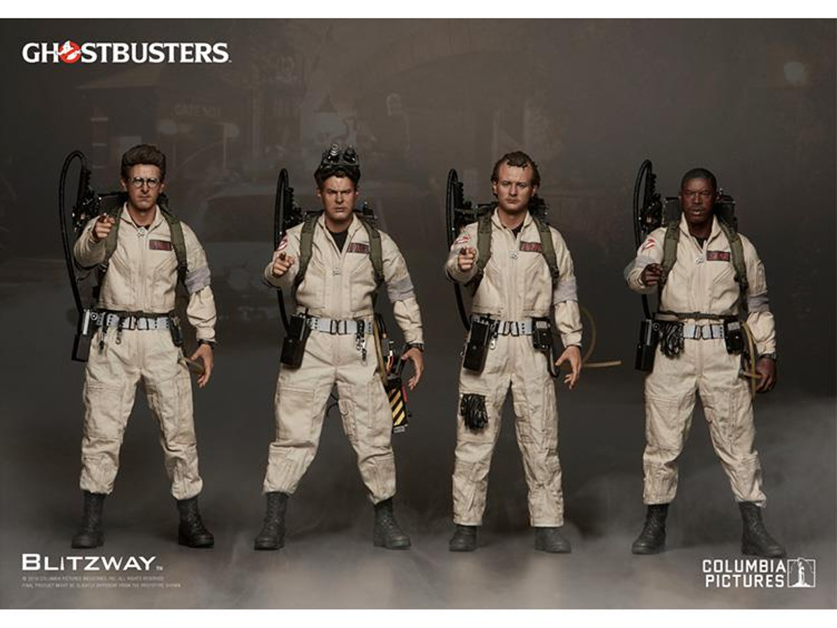 BLITZWAY Ghostbusters Zeddemore Black Folded Gloves loose 1//6th scale
