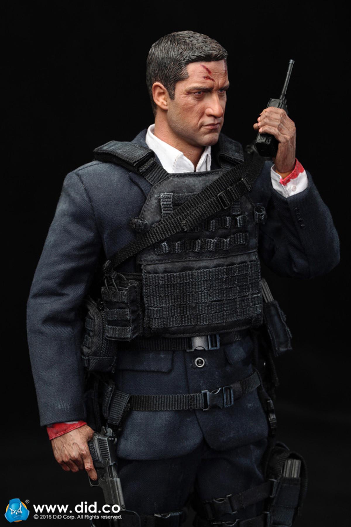 1//6 Scale Black Socks DID Action Figures Mark Secret Service