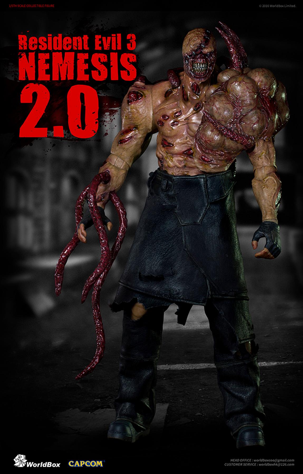 World Box Resident Evil 3 Nemesis 2 0