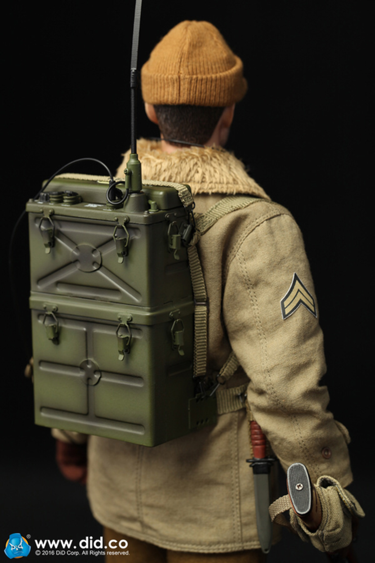 DID Carbine WWII 29TH INFANTRY DIV RADIO OPERATOR PAUL 1//6 ACTION FIGURE TOYS
