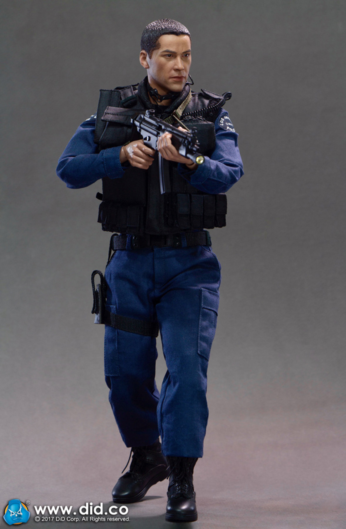 DID DRAGON IN DREAMS 1:6TH SCALE LAPD SWAT RADIO WITH EAR PIECE FROM KENNY