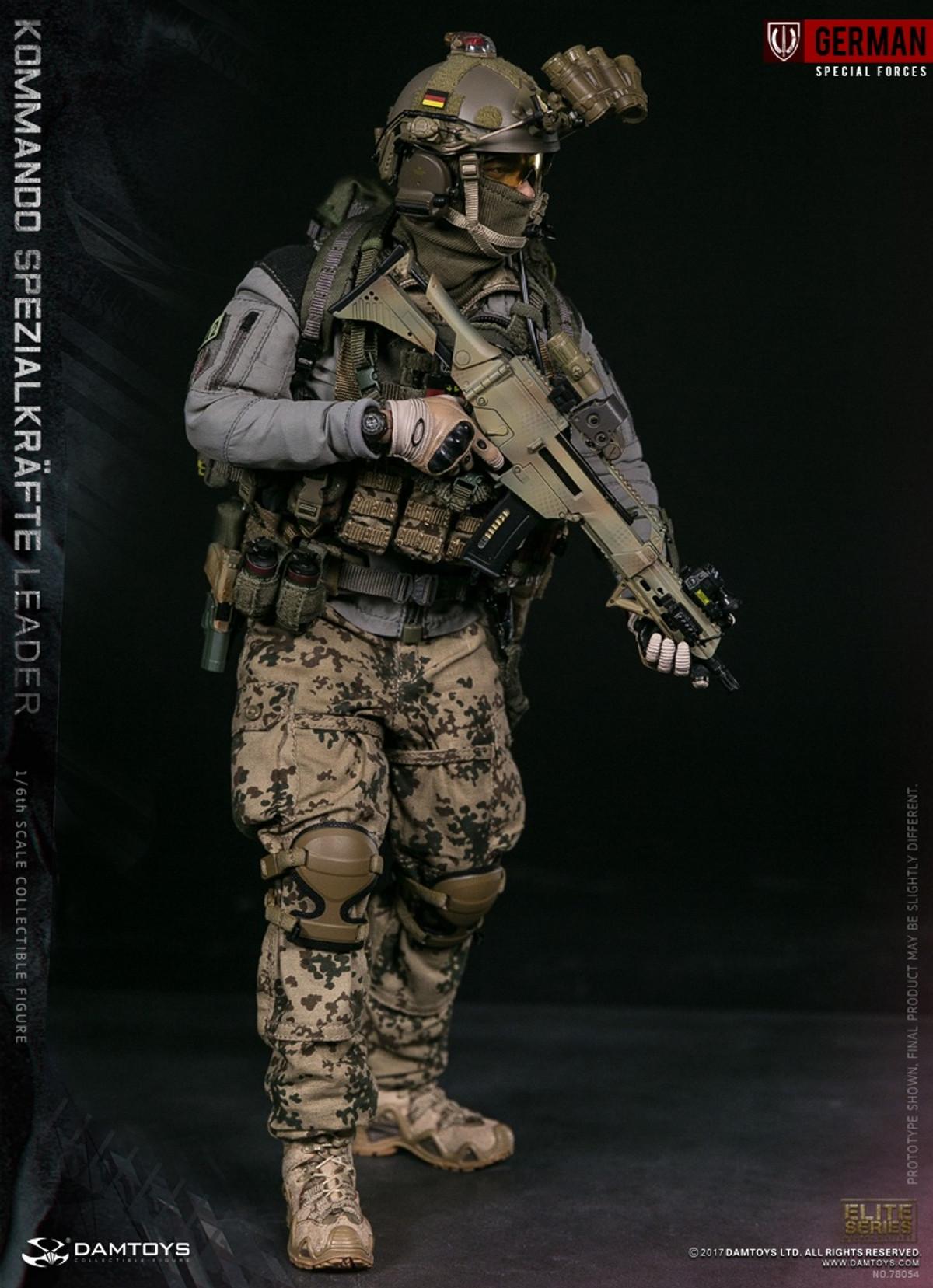 KSK Leader Flashbang /& Smoke Grenades Set Damtoys Action Figures 1//6 Scale