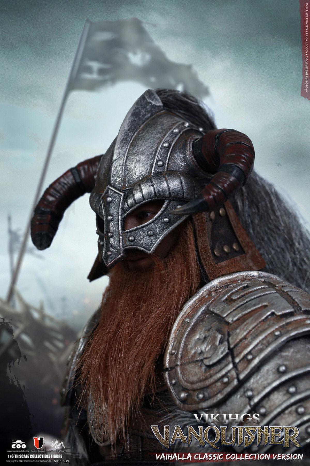 COO Models Vanquisher WAR LORD Viking Leather Belt /& Fur loose 1//6th scale