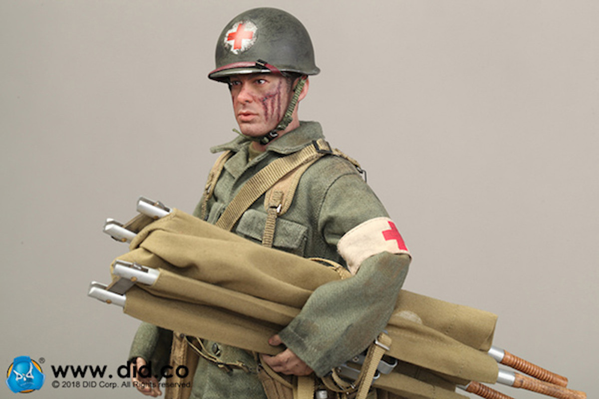 DID Dragon in Dreams 1:6TH SCALA WW2 U.S AIRBORNE Sciarpa Mimetica CB33943