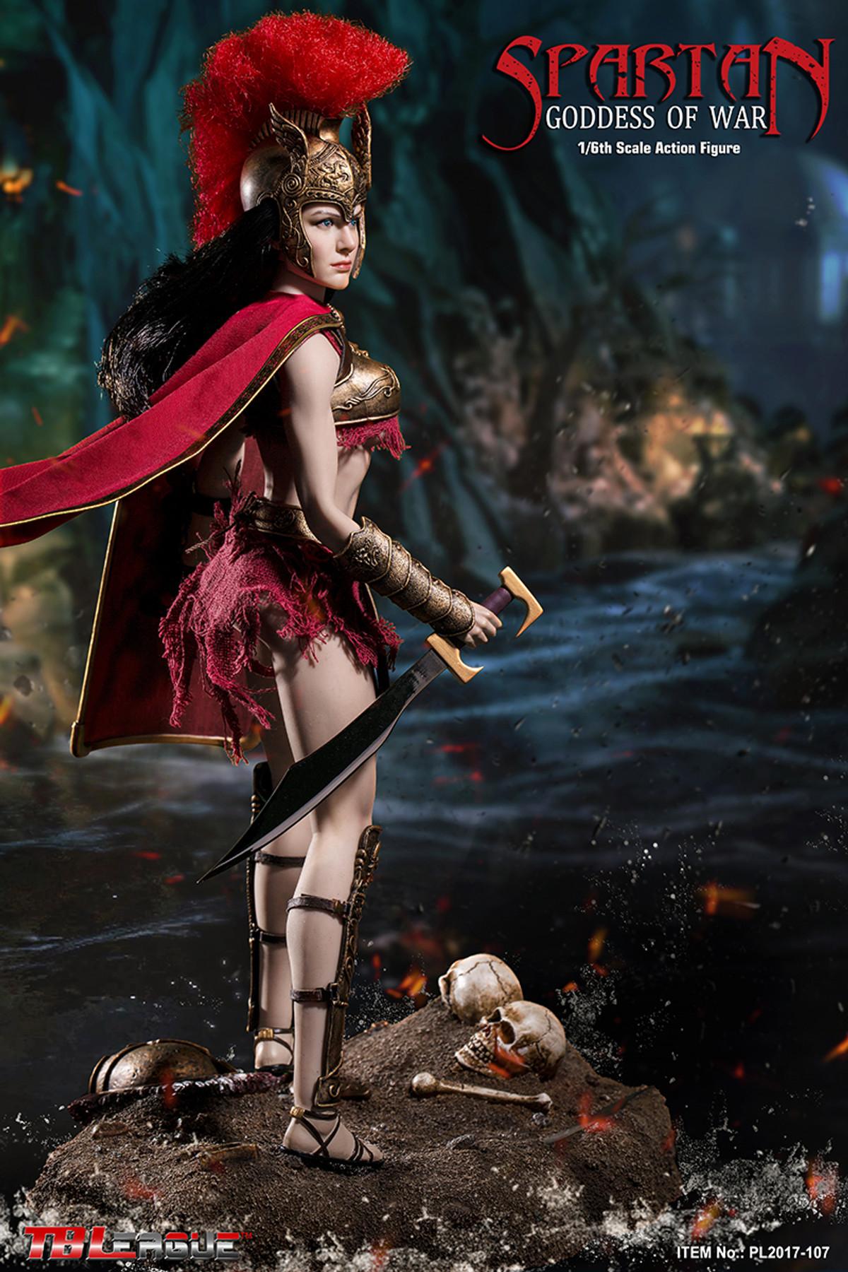 """1//6 Scale TBLeague Phicen PL2017-107 Spartan Goddess of War 12/"""" Figure Hands C"""