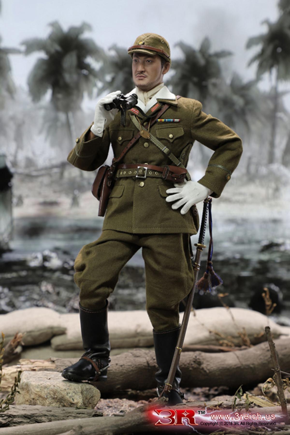 3R DID DRAGON IN DREAMS 1:6TH SCALE WW2 JAPANESE IJA 32ND ARMY HANDBOOK /&TAG