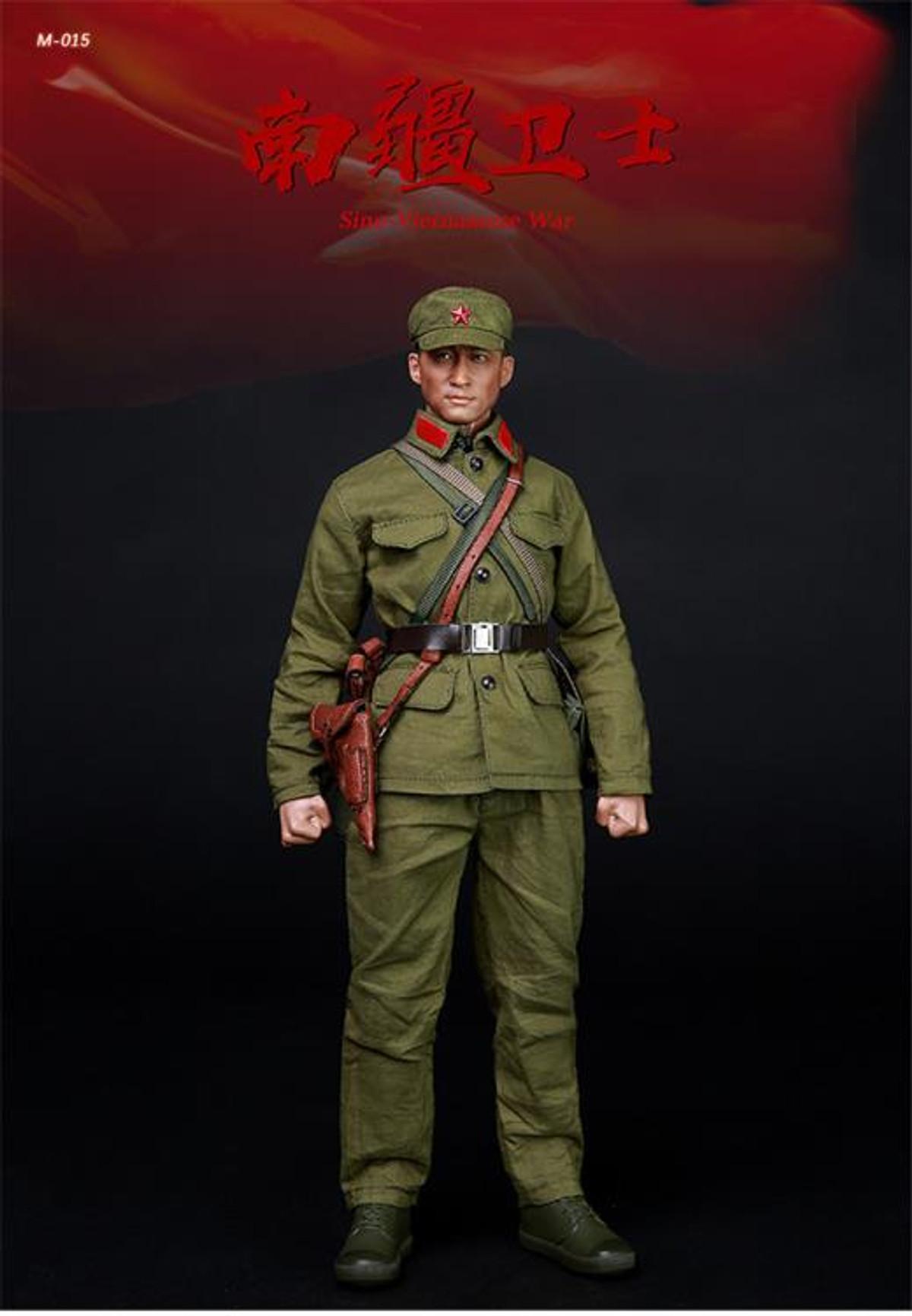 Mini times PLA head sculpt 1//6 scale toys sino-Vietnamese war