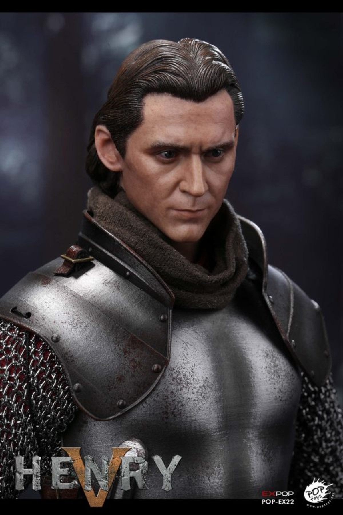 """POPTOYS EX22 1//6 Scale King Henry V of England 12/"""" Action Figure Imperial Crown"""
