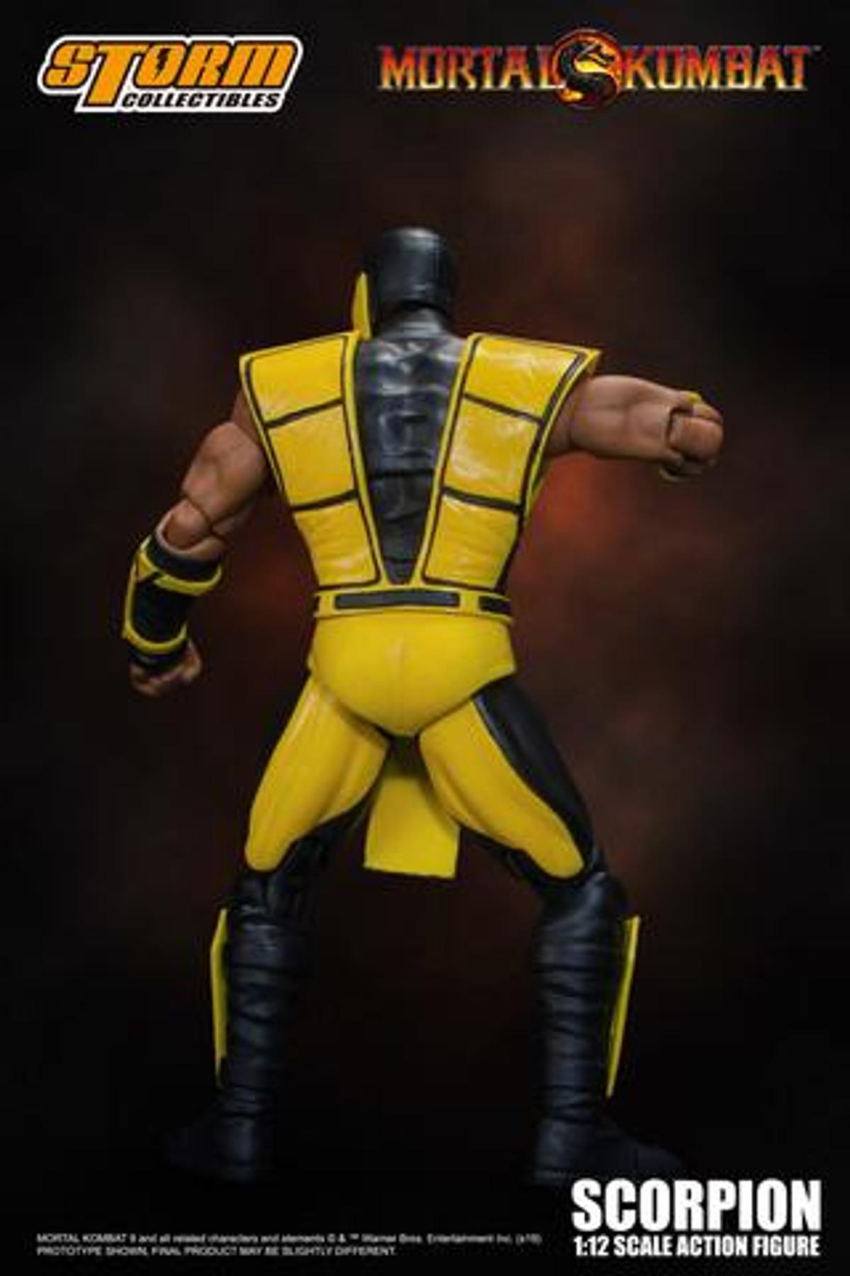 Mortal Kombat 3 Scorpion Storm 1//12 Scale Action Figure