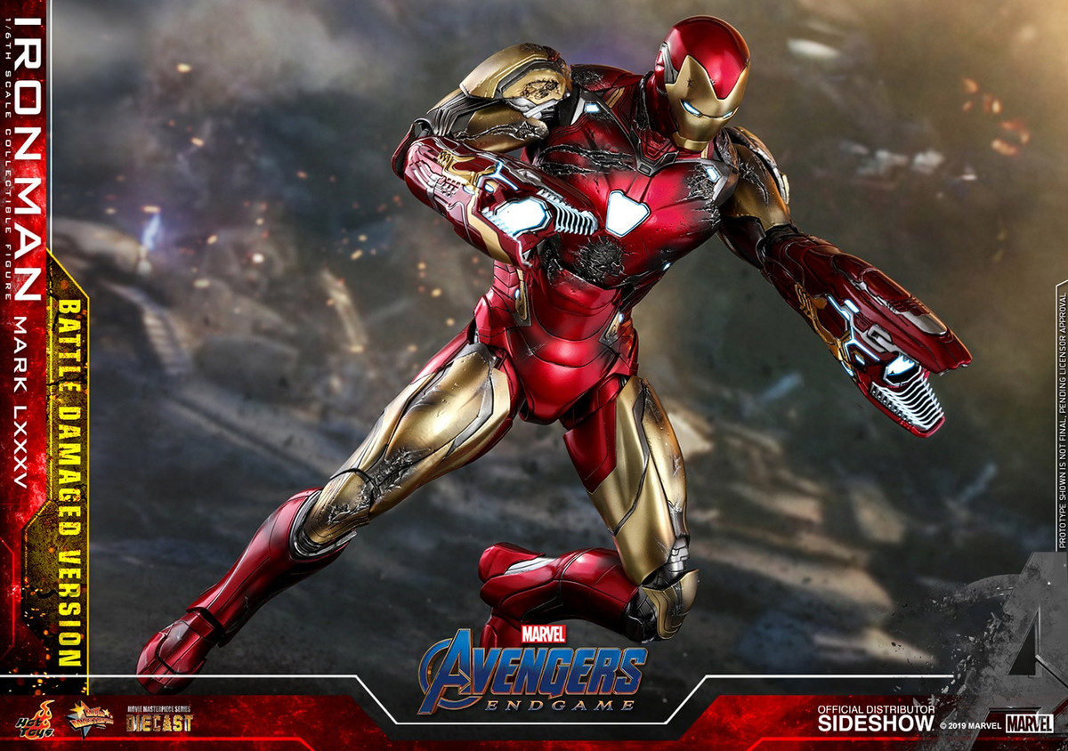 Hot Toys - Avengers: Endgame - Iron Man Mark LXXXV (Battle Damaged Version)
