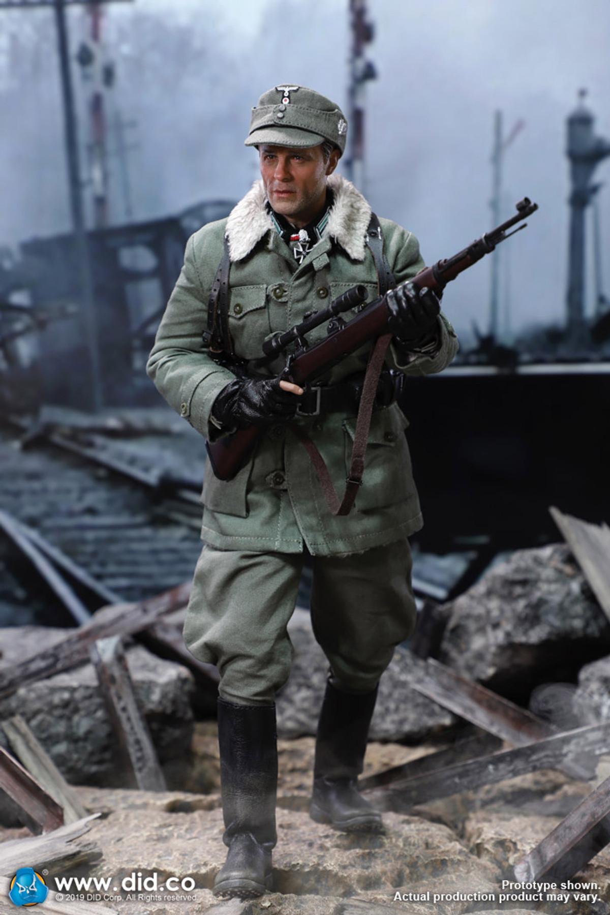 A DID DRAGON IN DREAMS 1//6TH SCALE WW2 GERMAN Poncho MAJOR ERWIN KONIG