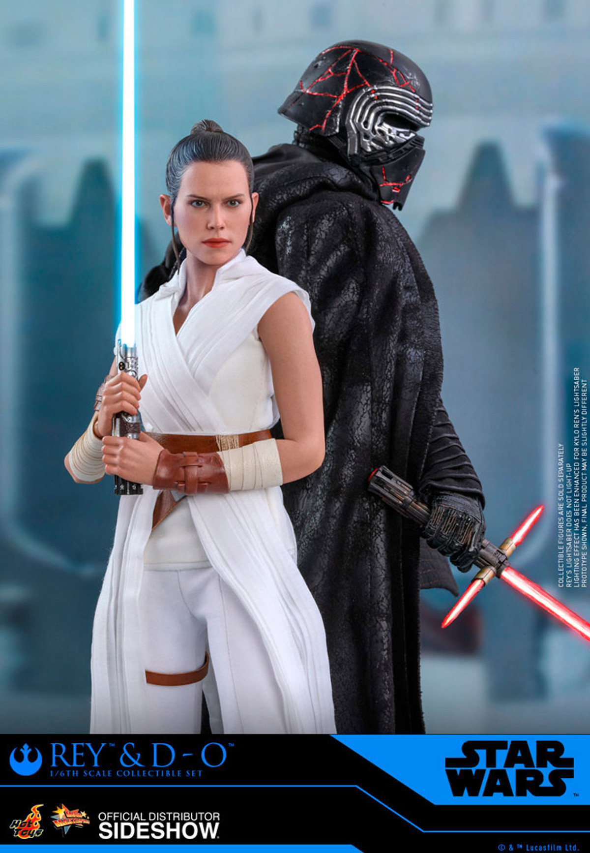 Hot Toys Star Wars The Rise Of Skywalker Rey And D O
