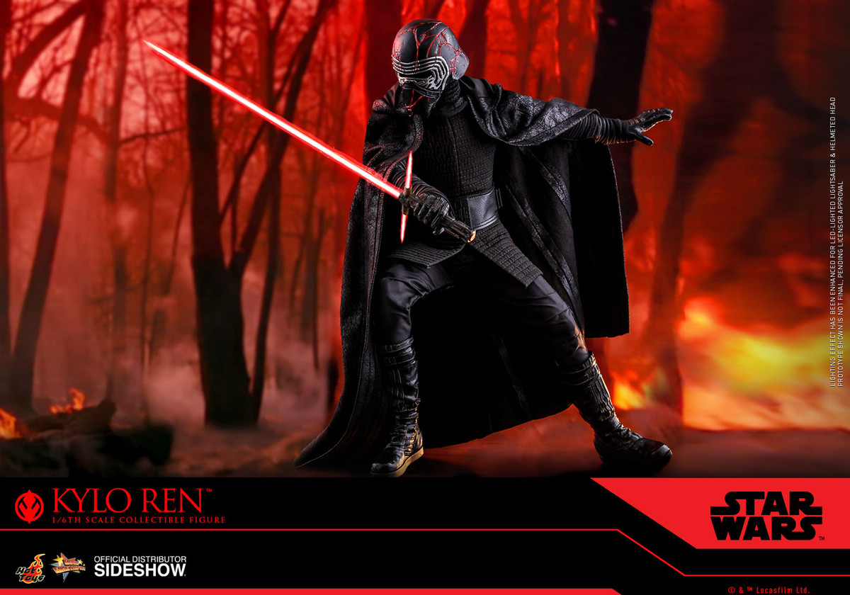 Hot Toys Star Wars The Rise Of Skywalker Kylo Ren
