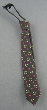 Asmus Toys - Tie - Brown /1 Polka Dots