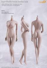 Phicen - Seamless Stainless Steel Female Body in Pale - Large Size Breast - S07C