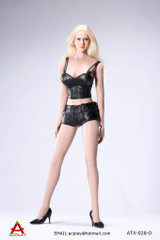 AC Play - Hot Sun-top and Leather Shorts Set