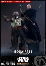 Hot Toys - Star Wars The Mandalorian: Boba Fett (Deluxe Version)