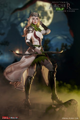 TBLeague - Elf Archer - White