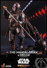 Hot Toys - Star Wars The Mandalorian - The Mandalorian and Grogu