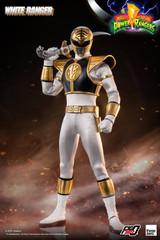 Threezero - Mighty Morphin Power Rangers - White Ranger