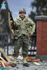 DID - 1/12 Palm Hero - WWII US 2nd Ranger Battalion Series 1 - Captain Miller