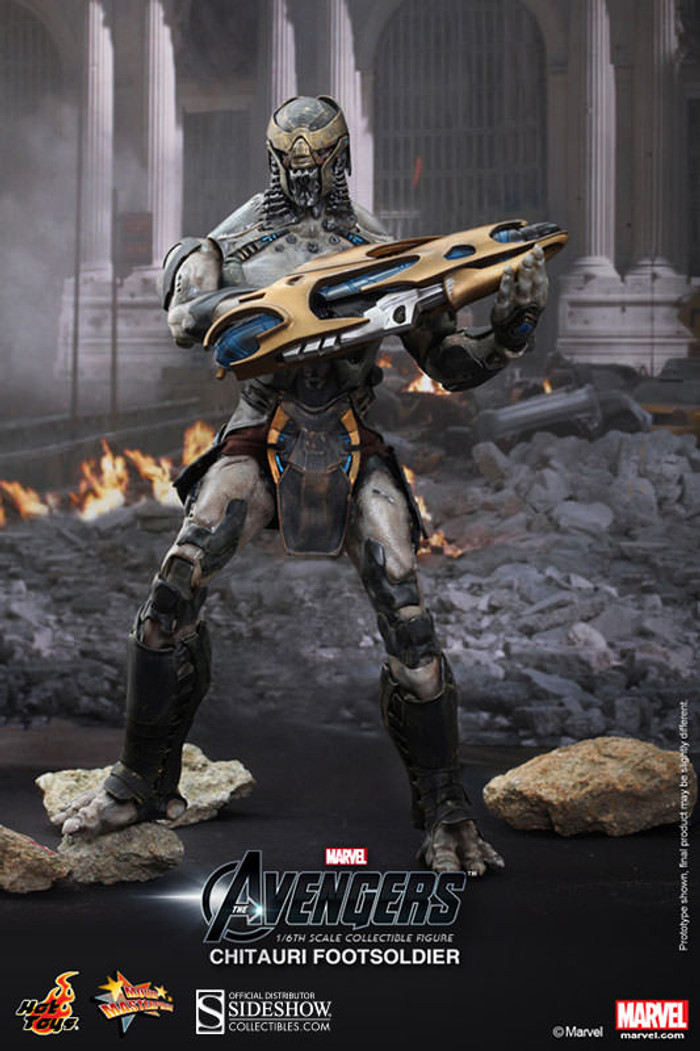Hot Toys - The Avengers - Chitauri Footsoldier