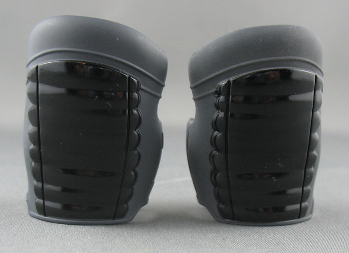 Sideshow - Upper Arm Armor - Black Futuristic