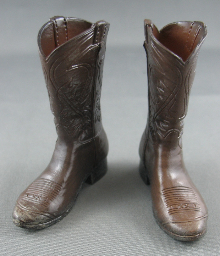 Coo Model - Cowboy Boots - Brown