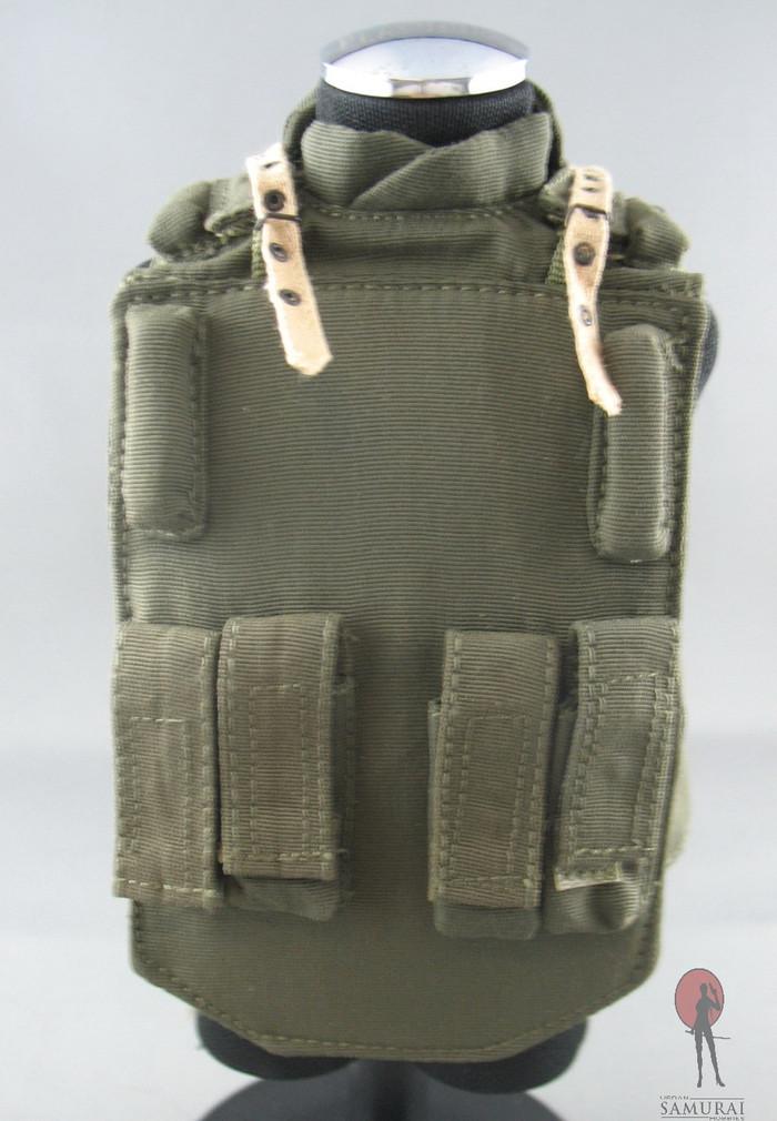 KGB HOBBY - 6B5 Body Armor - 4 Magazine Pouches - Dark Green /w Beige Shoulder Straps