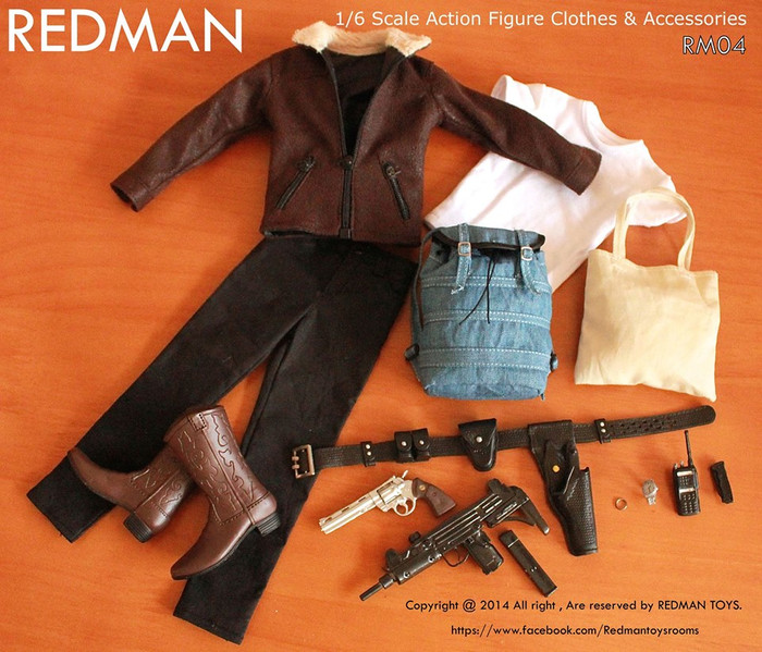 REDMAN - Sheriff Leather Edition Package (Walking Dead)
