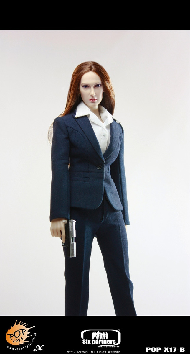 Pop Toys - MI6 Female Agent in Blue