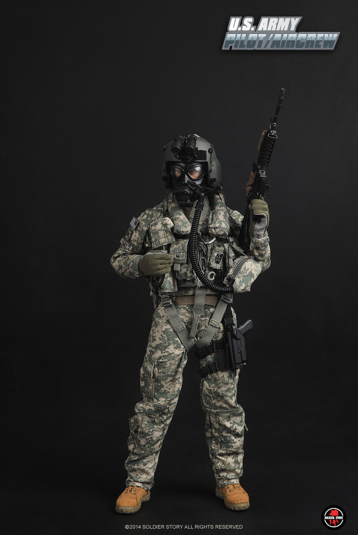 """Soldier Story - 1/6 scale """"U.S.ARMY PILOT/AIRCREW"""""""